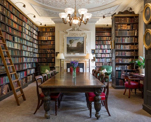 Bromley House Library, Angel Row - 1751