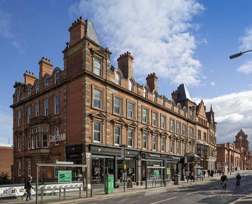 Gresham Hotel and Nottingham Station