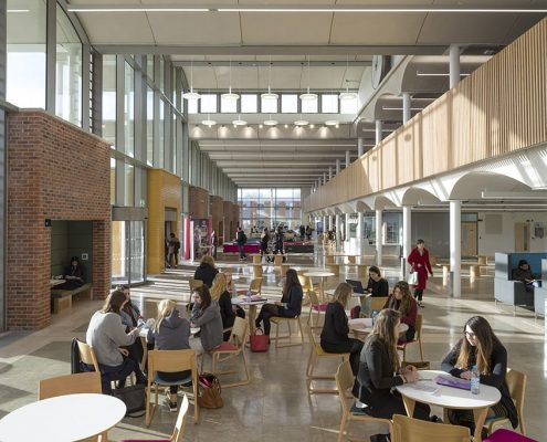 The Pavilion, Nottingham Trent University - Evans Vettori Architects