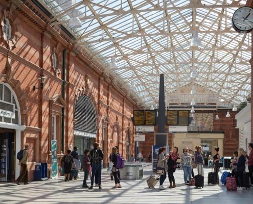 Inside Nottingham Station - BDP