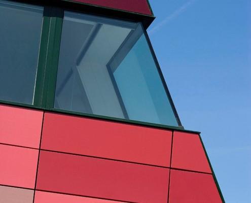 International House, Jubilee Campus - Make Architects