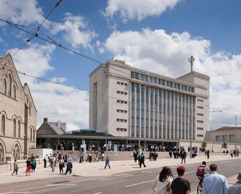 Newton Arkwright, Nottingham Trent University - Hopkins & Partners