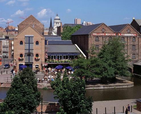 Nottingham Canal and Via Fossa