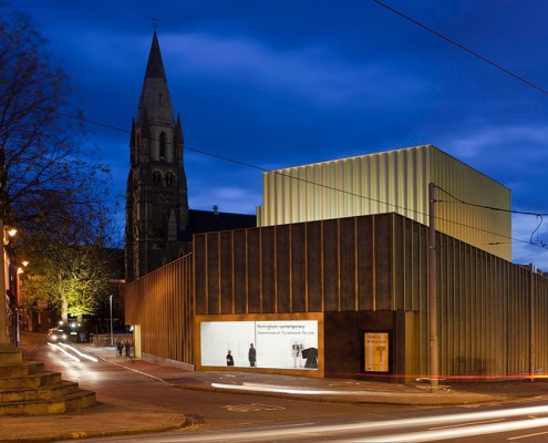 Nottingham Contemporary and Weekday Cross