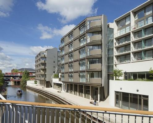 Nottingham One and Nottingham Canal - Levitate Architects
