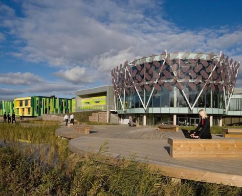 Nottingham Science Park - Studio Egret West and Hawkins Brown