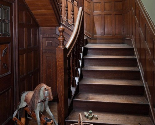 Nursery stairs - Newstead Abbey
