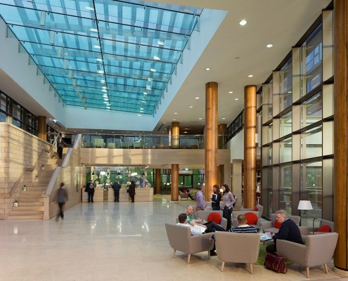 De Vere Orchard Hotel lobby - RHWL