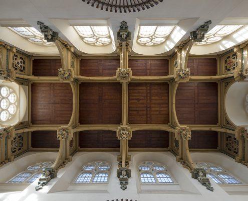 Wollaton Hall ceiling - John Smythson 1588