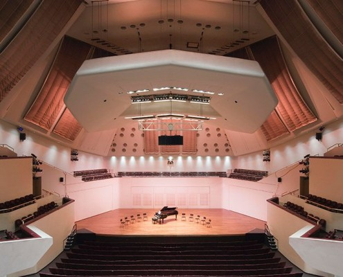 Royal Concert Hall Auditorium - RHWL