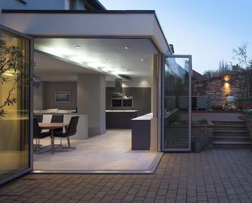 Terrace at twilight - McAfee Design
