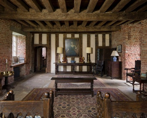 The Lodgings - Holme Pierrepont Hall circa 1500