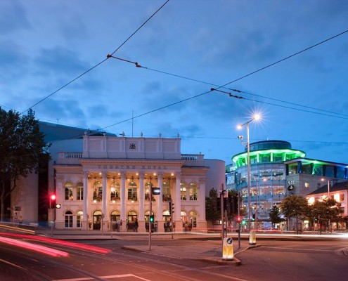 Theare Royal and The Cornerhouse from Market Street