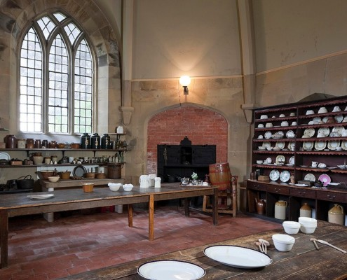 Victorian kitchens - Newstead Abbey