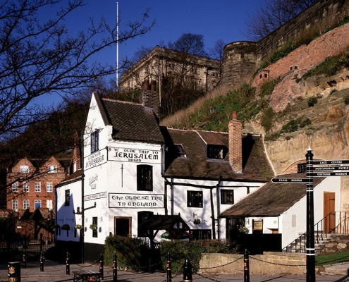 Ye Olde Trip to Jerusalem and Nottingham Castle