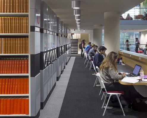 George Green Library, University of Nottingham - Hopkins Architects
