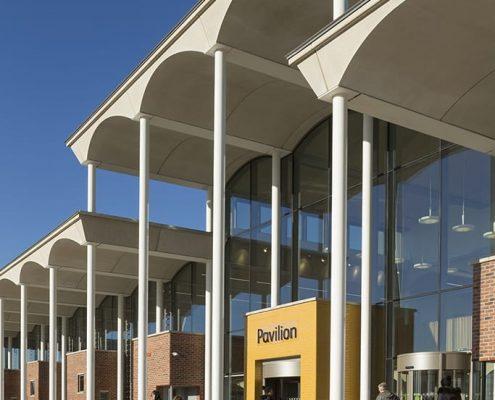 The Pavilion at Nottm Trent Uni - Evans Vettori Architects